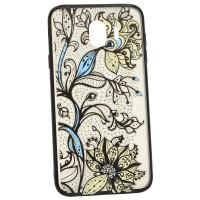 Чехол для Samsung J4 2018 J400 Yotoo Цветы (3623