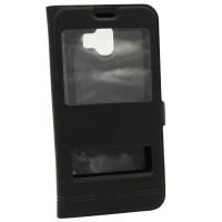 Чехол-книжка для Samsung J4 2018 J400 Momax Чёрный (3765)