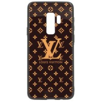 Чехол для Samsung Galaxy S9 Plus Glass Louis Vuitton (3174)