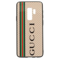 Чехол для Samsung Galaxy S9 Plus Glass Gucci (3174_3)