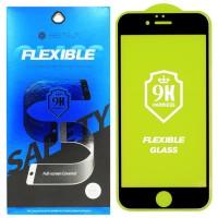 Гибкое защитное стекло BestSuit Flexible для Apple iPhone 6 6s BLACK Чёрное