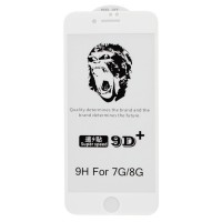 Защитное стекло 5D Gorilla для Apple iPhone 7 / 8 White (4733)