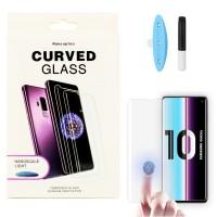 Защитное стекло 5D для Samsung Galaxy S10e (G970F) UV (Жидкий клей) (4464)